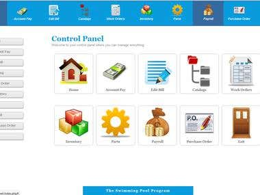 Admin Panel for Pooling Website