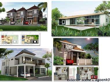 Design & 3d rendering