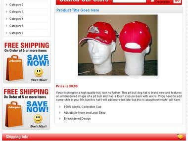 eBay listing designs