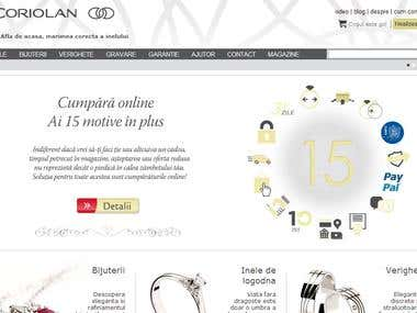 Coriolan e-commerce CRM