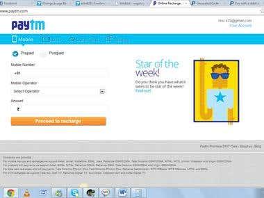 an e-commerce website