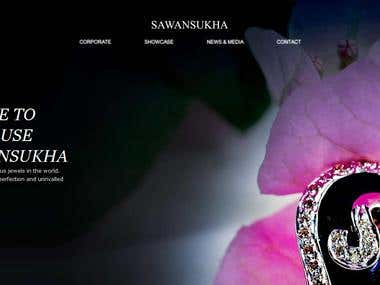 Sawan Sukha Jewellery Website