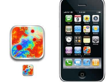 iPhone icon app