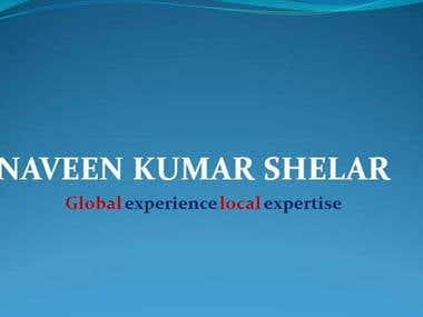 My Journey   Naveen Kumar Shelar