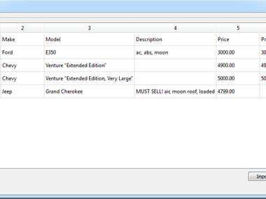 CSVManager Import/Export CSV file
