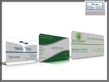 TriMon Studio does... Business card design