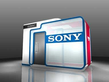 SONY exhibition capsule