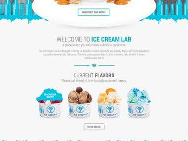 Ice Cream Lab revamp