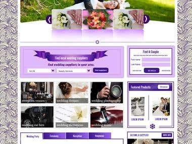 Wedding Guide Design