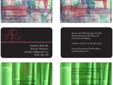 Business Card, semi resume