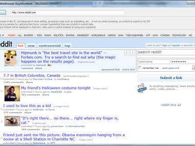 .Net controls (Web Browser control ..)