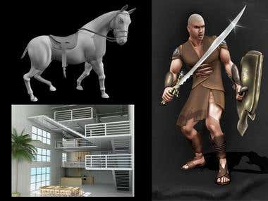 3D Modeling & Texturing