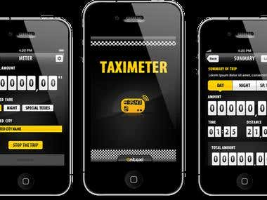 Taximeter Application