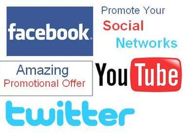 We Are Providing Real Social Promotion