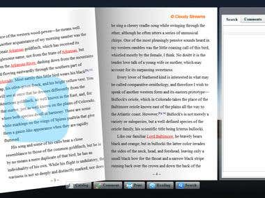 AIR/ActionScript  Book Viewer