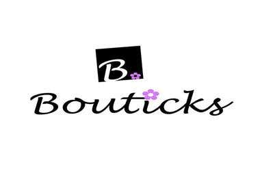 Bouticks - Logo Design (Magic Productions)