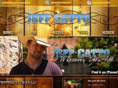 Website for Jeff Catto