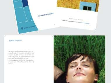 Brochure for dental services