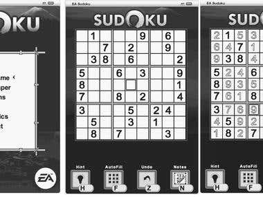 Sudoku for Kindle platform (EA project)