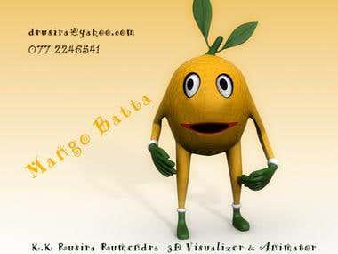 Mango man 3D module
