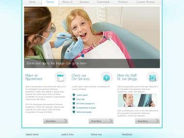 Dental Practice Wordpress Site