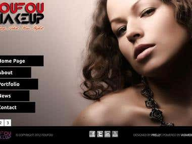 Fou Fou Makeup New website