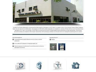 MGM Hospital Website