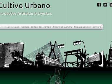Website | Cultivo Urbano Produções Artísticas e Eventos
