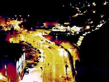 La luces de la noche