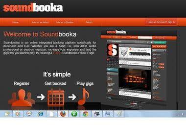 Soundbooka Site(soundbooka.com)