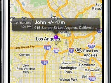 GPS Tracking Driver Mobile Application