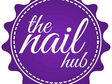 the nail hub logo proposal
