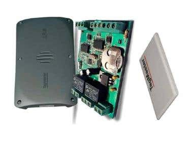 Controller and IDs processor for TagMaster LR 6m RFID Reader