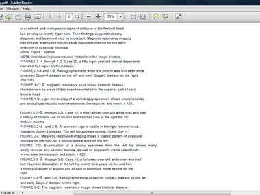 From Image to PDF - (Copy Typing - OCR - 100% accurate)