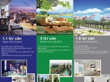 Fliers, posters, brochures design