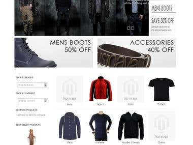 www.v2fashion.co.uk by Magento