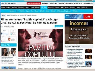 site www.antena3.ro