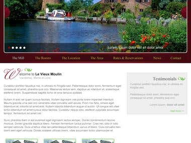 Le Vieux Moulin website