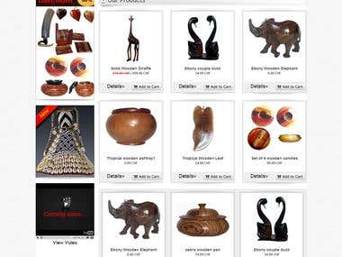 www.deco-exotic.ch -  Exotic Handmade Handicrafts Business
