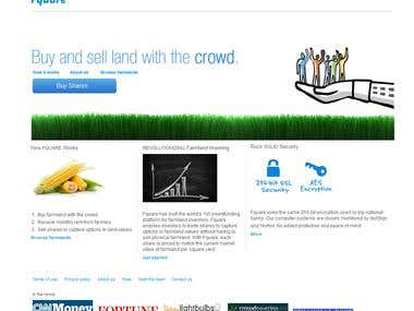 A land broking website