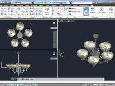 Object 3D modelling
