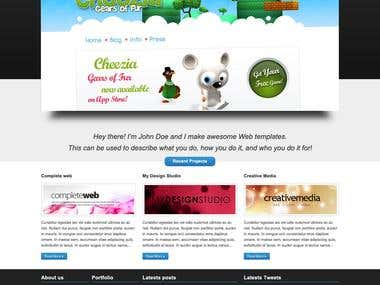 ERROPiX Wordpress Theme