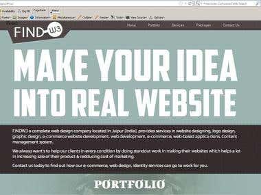 web2 design