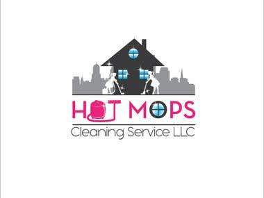 Logo for cleaning servers