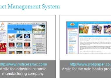 Product Management Systems