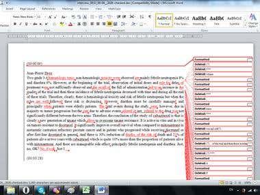 Transcription Proofreading