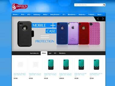 Magento based eCommerce web design and development