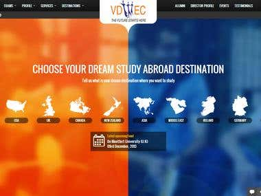 VDIEC Web Portal Design, Developemnt, Social Media Mktg, SEO