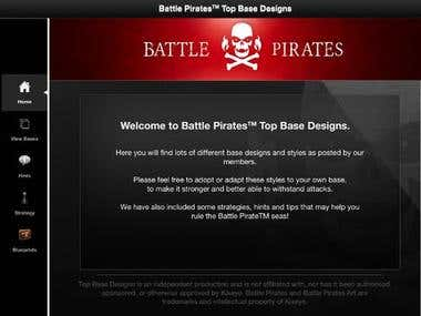 Battle Pirates Base Designs