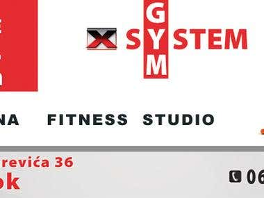 X sistem flyer